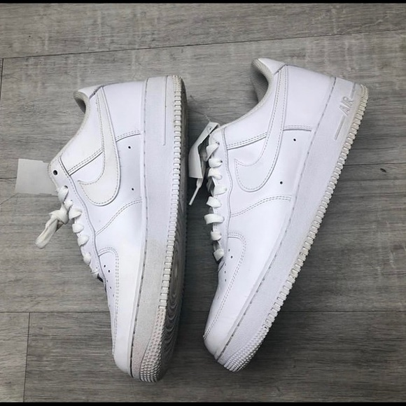 Men size 10 Nike Air Force ones